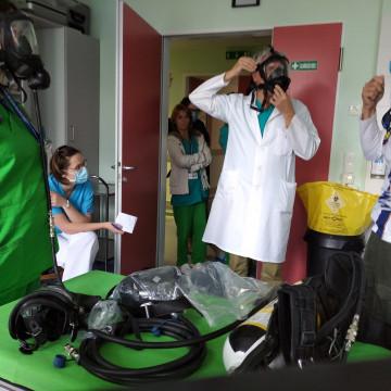 Légzésvédelmi eszközök biztosítása a Vízimentők Magyarországi Szakszolgálata és Önkéntes Tűzoltó Egyesület részére
